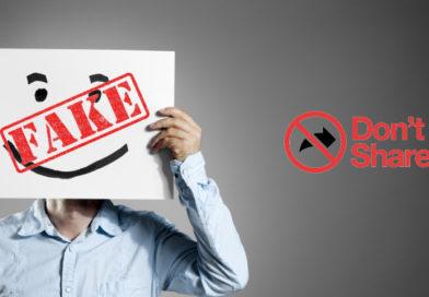 Undicesimo: non condividere false notizie
